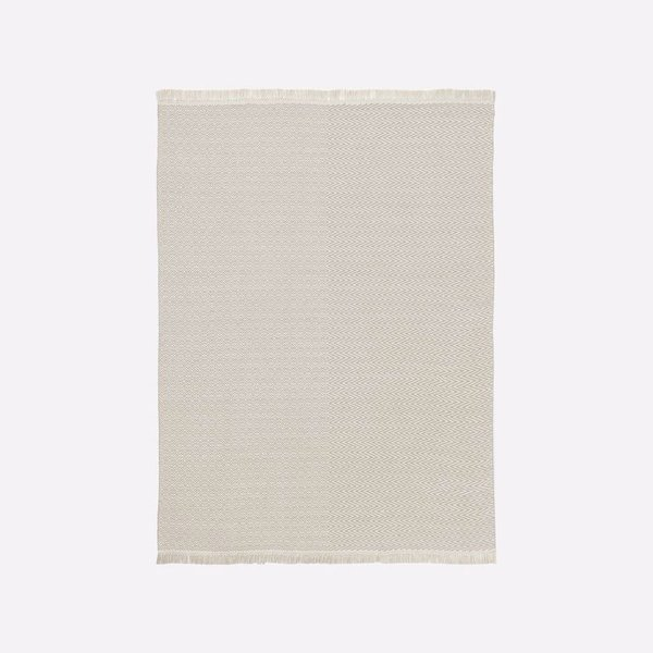 West Elm Duet Indoor/Outdoor Rug - Platinum