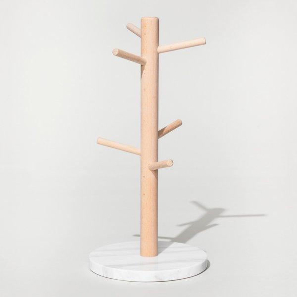 Threshold Marble Mug Rack - White