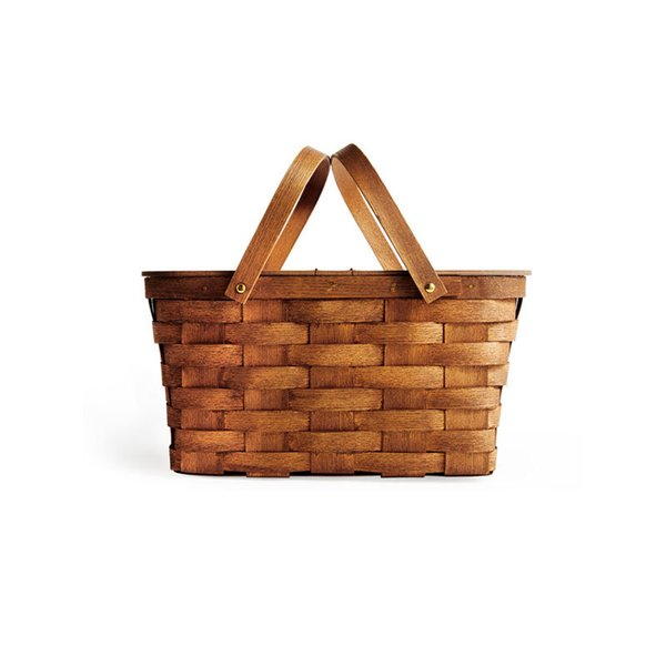 Peterboro Basket Company Twin Split Picnic Basket