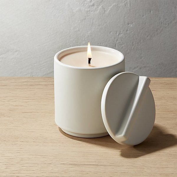 CB2 Grapefruit and Jasmine Soy Candle