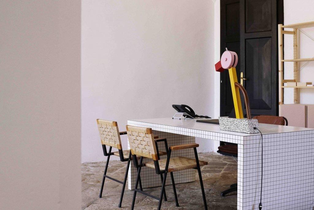 Living Room, Desk, and Chair  Villa Lena Agriturismo