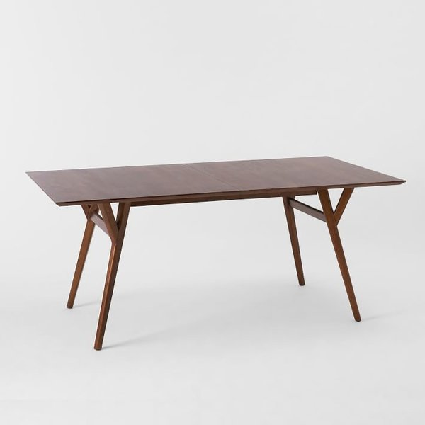 West Elm Mid-Century Expandable Dining Table