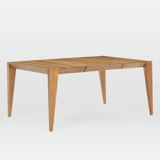 West Elm Anderson Solid Wood Expandable Dining Table - Caramel