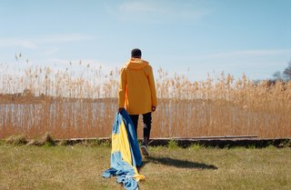 "Based in Stockholm, Stutterheim brands itself as offering ""Swedish melancholy at its driest."""