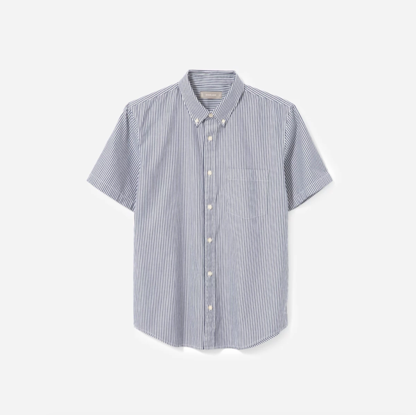 Everlane Men's Air Oxford Short-Sleeve Shirt