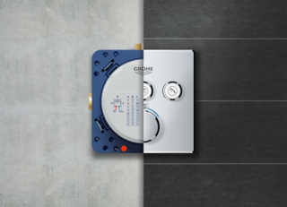 The SmartControl delivers multiple shower outlets with one seamlessly designed trim, meaning your plumber only has to install one, simple control.