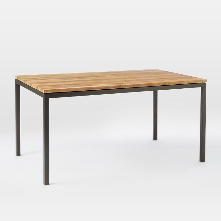 West Elm Box Frame Dining Table - Wood by West Elm - Dwell