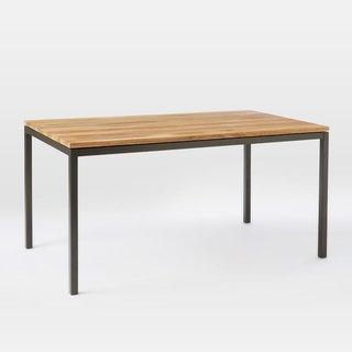 West Elm Box Frame Dining Table - Wood