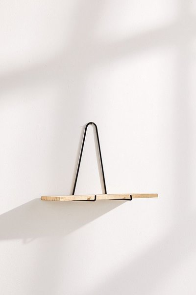 Urban Outfitters Carter Triangle Bracket Wall Shelf