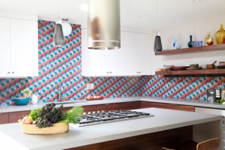 """""""I can't just throw in any material into my homes because I'm trying to be respectful of the home's architecture,"""" says designer Karen Nepacena. """"Caesarstone offers these great, neutral and timeless colors and finishes. It pairs well with my specific line of work."""""""
