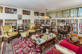 An avid book collector, Adams left several books at the property which remain today.