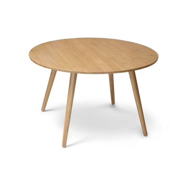 Article Seno Oak Round Dining Table