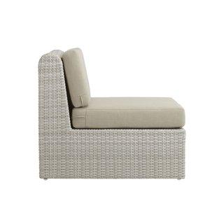 CB2 Ebb Armless Chair