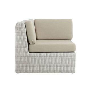 CB2 Ebb Corner Chair