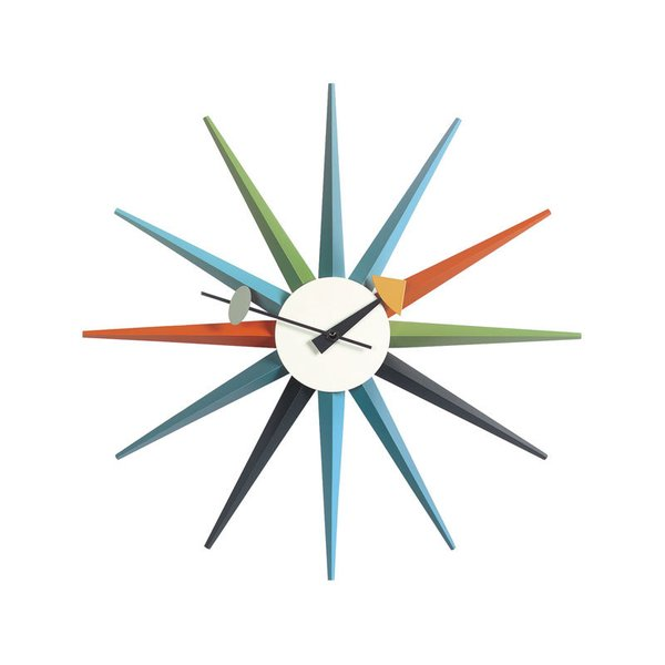 Vitra Nelson Sunburst Clock
