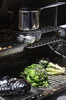 Multi-layer cooking zones allow chefs to cook multiple items at a time and at variable temperatures.