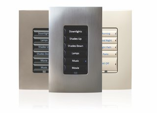 "Control4 Keypads control more than the lights! They are a stunning interface for the entire home, combining flexible button configurations that complement any design and decor. A simple press of a button starts a ""scene,"" activating simultaneous events.  Homeowners can choose how they want their home to respond and buttons are able to be customized accordingly."