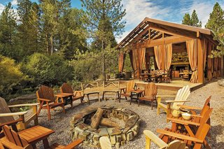 Resort at Paws Up at Greenough, Montana