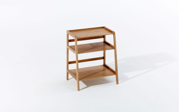 Kay + Stemmer Agnes Side Table - Oak