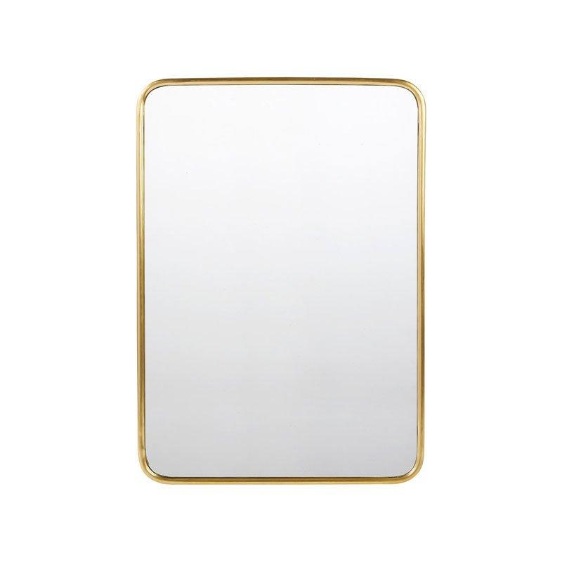 Rejuvenation Rounded Rectangle Metal Framed Mirror by Rejuvenation ...