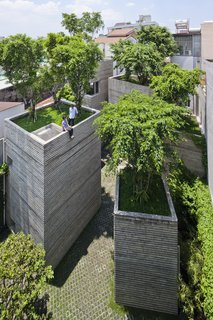 A Concrete Home in Vietnam Is Topped With Trees - Photo 14 of 20 -