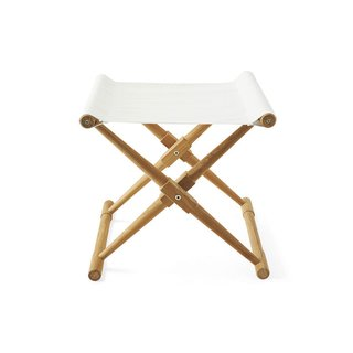 Serena & Lily Teak Camp Stool