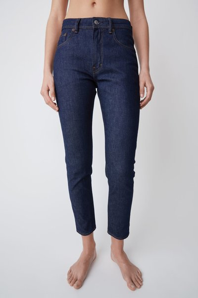 Acne Studios High Waisted Jeans - Indigo
