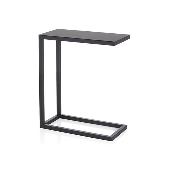 Crate & Barrel Avenue Black C Table