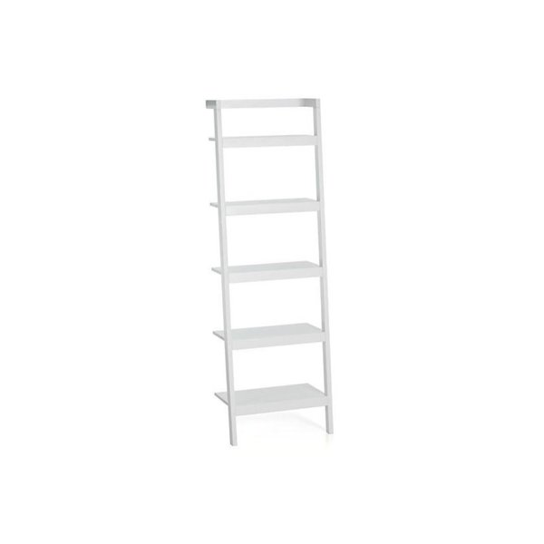 Crate & Barrel Sawyer Leaning Bookcase