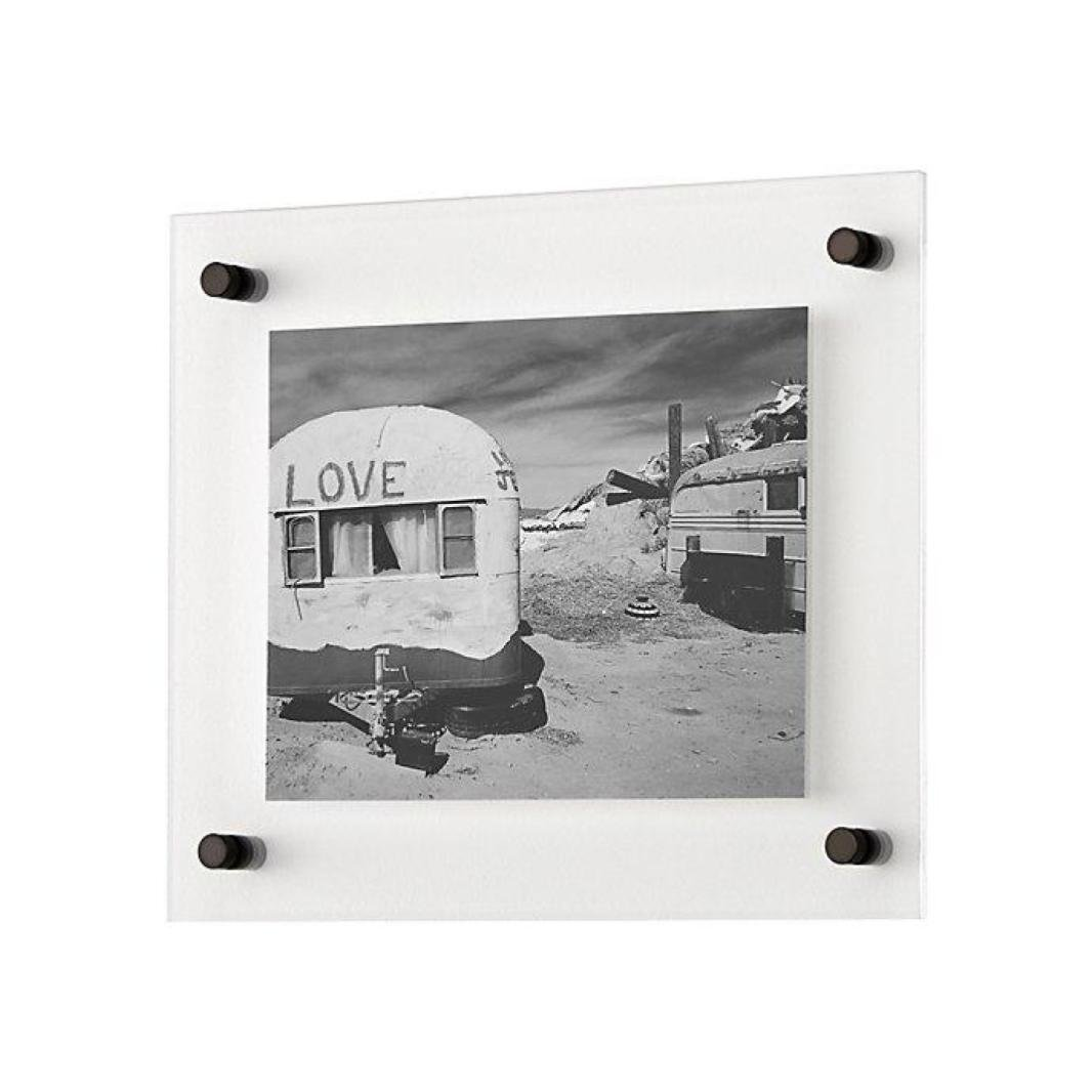 Crate & Barrel Floating Acrylic Wall Frame by Crate and Barrel - Dwell