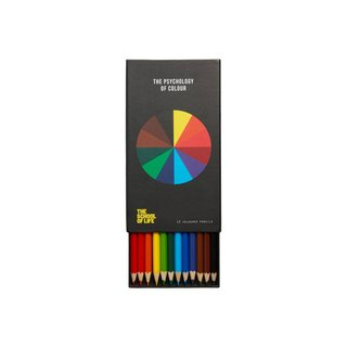 The School of Life The Psychology of Colour Set of 12 Colored Pencils