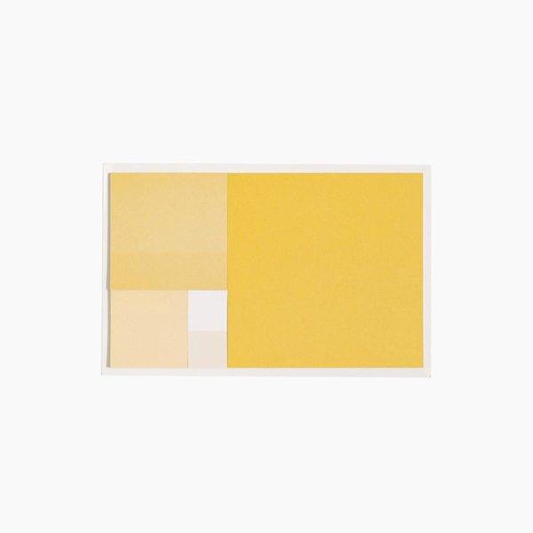 Poketo Golden Ratio Sticky Notes in Gold