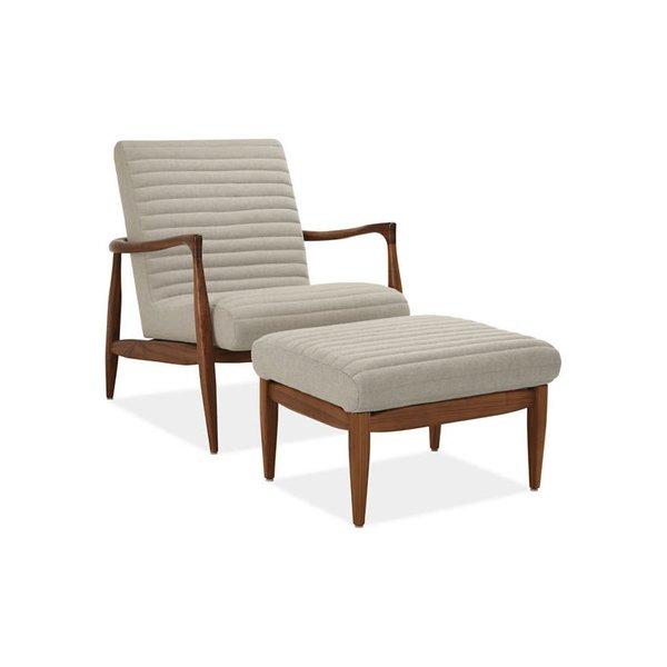 Room & Board Callan Chair & Ottoman
