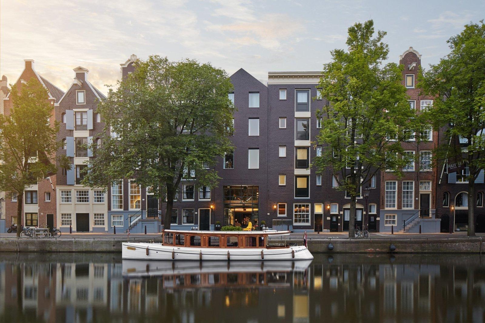 Exterior and Brick Siding Material  Pulitzer Amsterdam