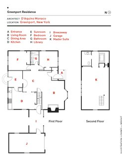 Greenport Residence floor plan