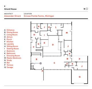 McLucas House / Girard House floor plan