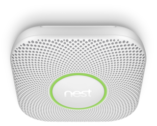 The Nest Protect Smoke & Co Alarm.