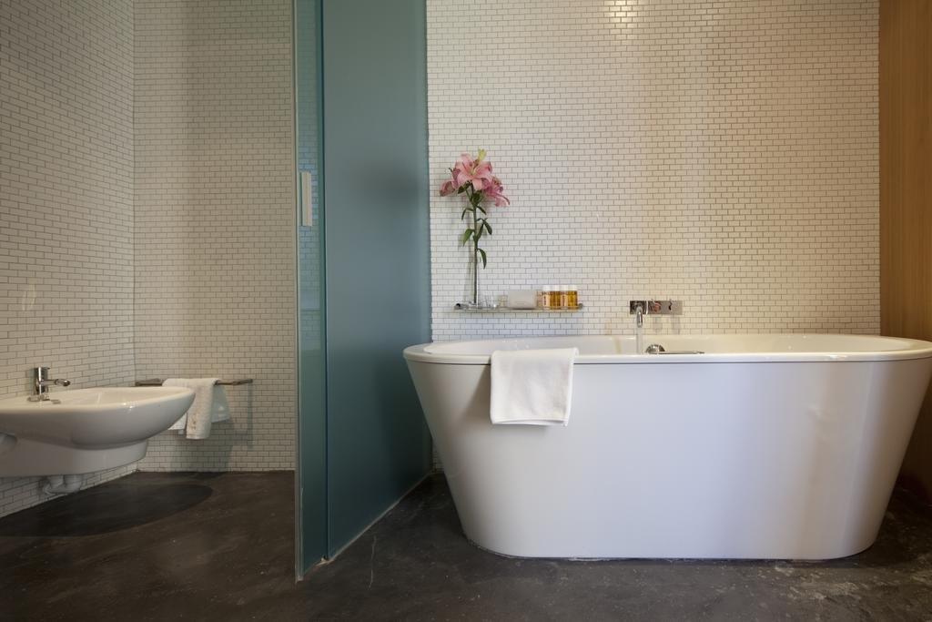 Bath Room, Freestanding Tub, and Soaking Tub  Son Brull Hotel & Spa