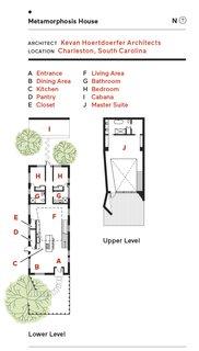 Metamorphosis House floor plan