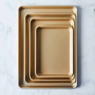 Nordic Ware Gold Nonstick Baking Sheet Sets