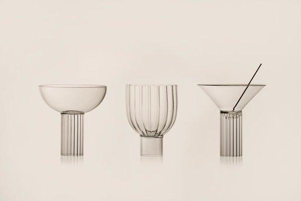 Calici Milanesi — Glassware Trio