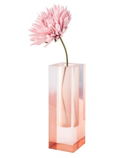 A collaboration between Jae Yang's two studios, UMZIKIM and Hattern, the multicolor Mellow vase line has a gauzy, transparent finish.