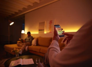 Smart lighting controls help you tailor your lighting settings to your routine.