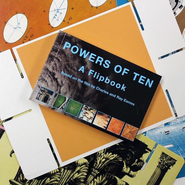 Eames Powers of Ten Flipbook