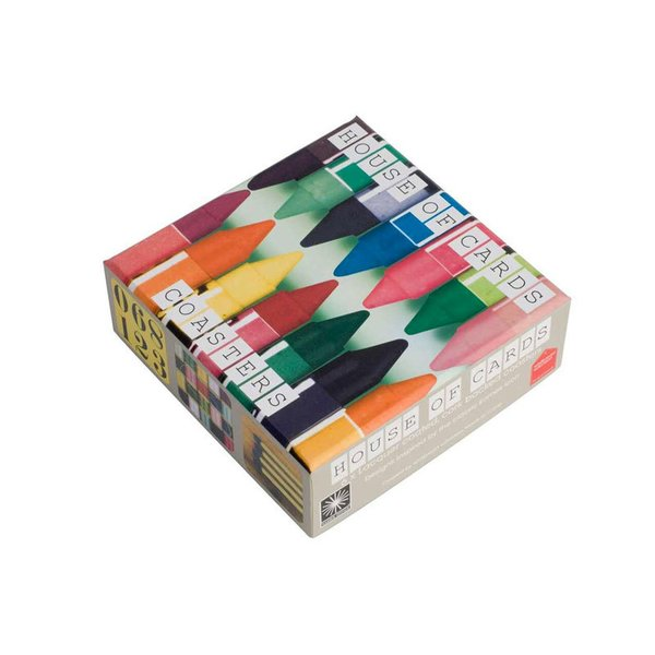 Eames House of Cards Coasters