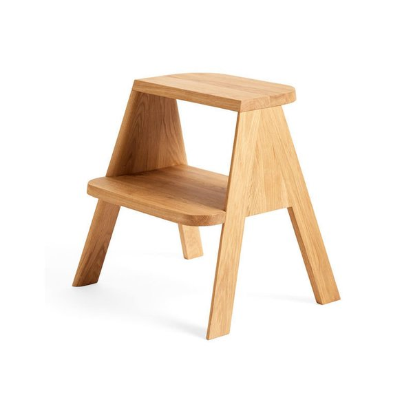 HAY Solid Oak Butler Step Stool
