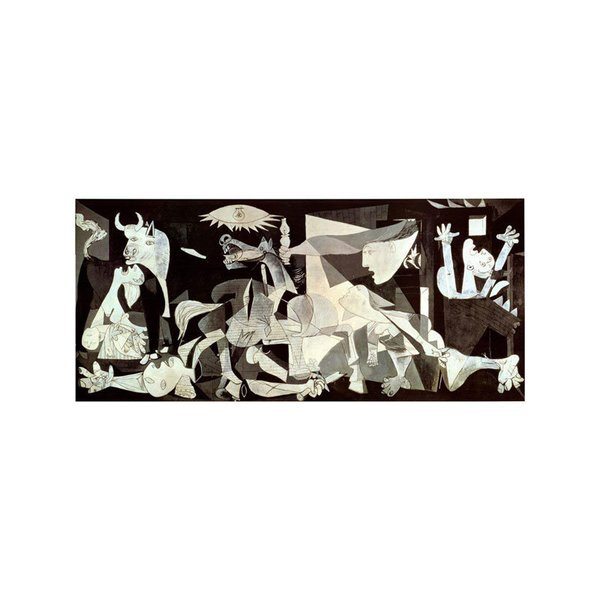 Guernica by Pablo Picasso Print - 54 x 28 Inches