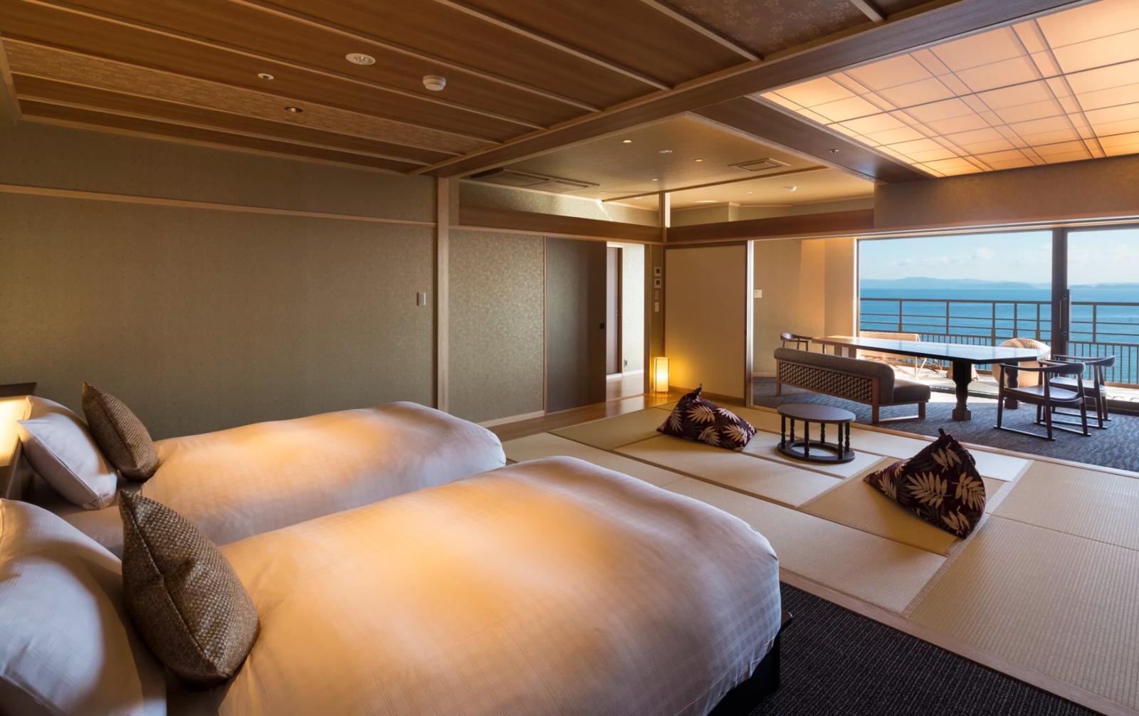 Bedroom, Recessed Lighting, and Bed  Villa Rakuen