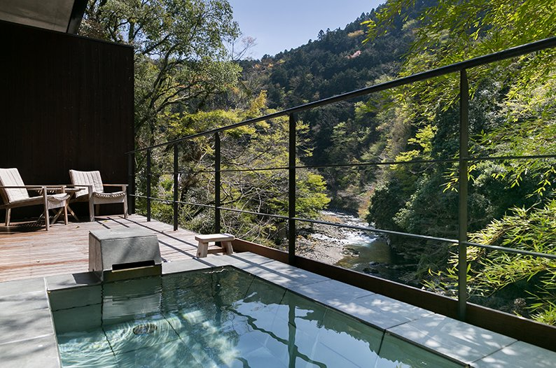 Outdoor, Wood Patio, Porch, Deck, and Hot Tub Pools, Tubs, Shower  Arcana Izu