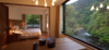 Modern home with Dining Room, Medium Hardwood Floor, Chair, Table, and Pendant Lighting. Photo 5 of Arcana Izu